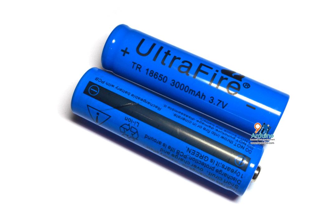 ถ่านชาร์ต Ultrafire 18650