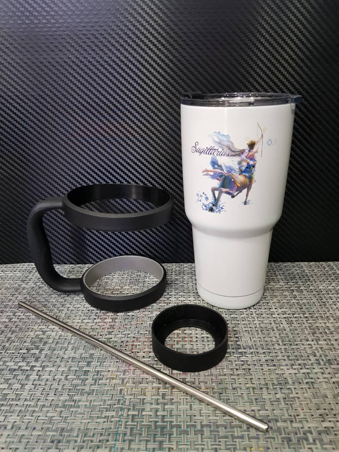 ชุดแก้วเยติ 30 ออนซ์ พื้นสีขาว ราศีธนู