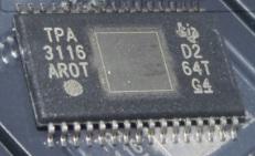 TPA3116D2 CHIP IC สำหรับซ่อมเครื่องขยายเสียง 100-200 วัตต์
