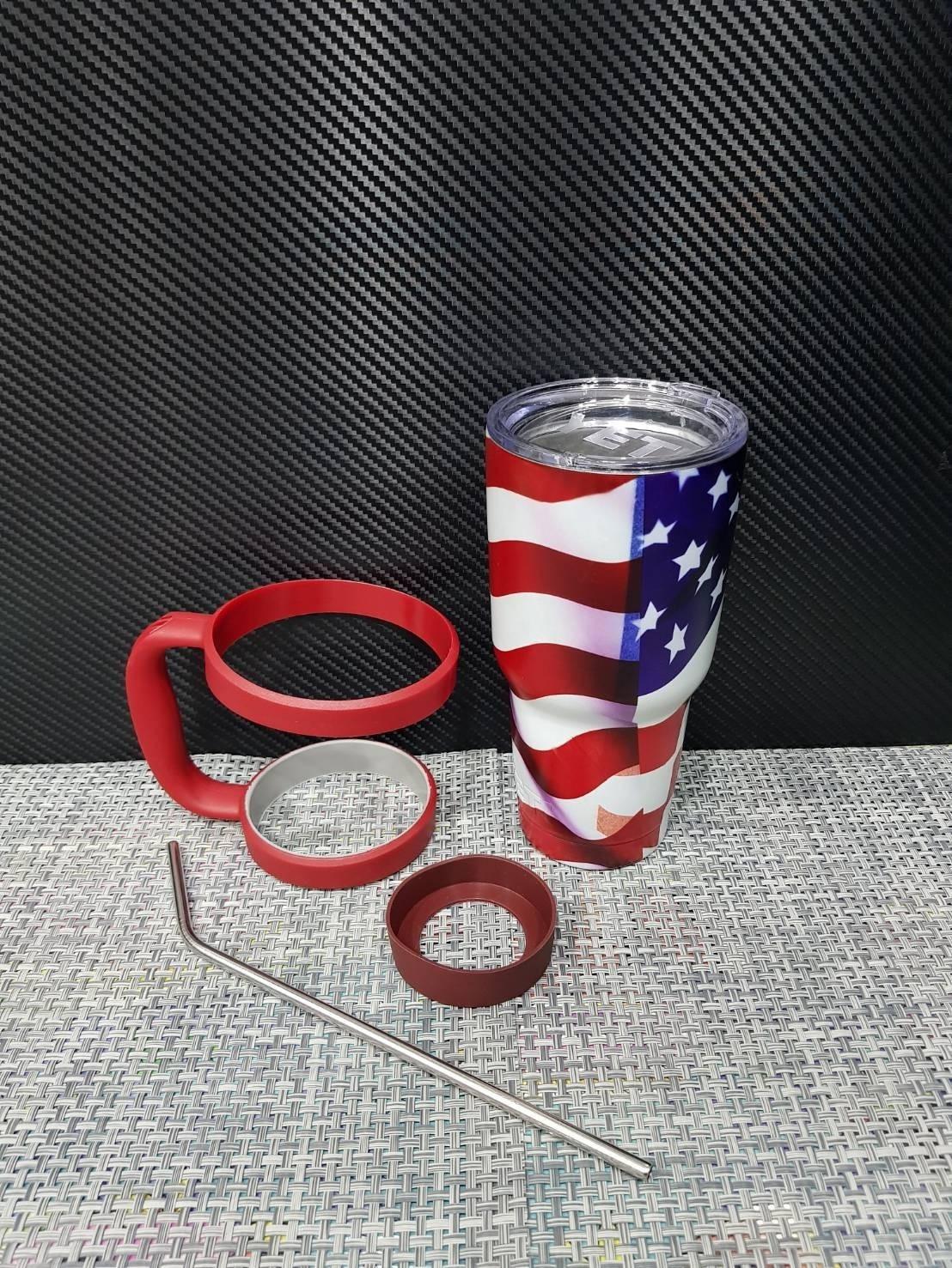 ชุดแก้วเยติ 30 ออนซ์ ลายธงชาติอเมริกา