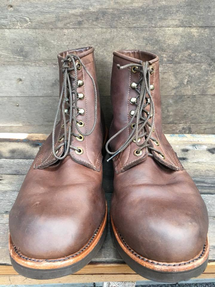 2.SALEChippewaมือสอง boot size 14EE