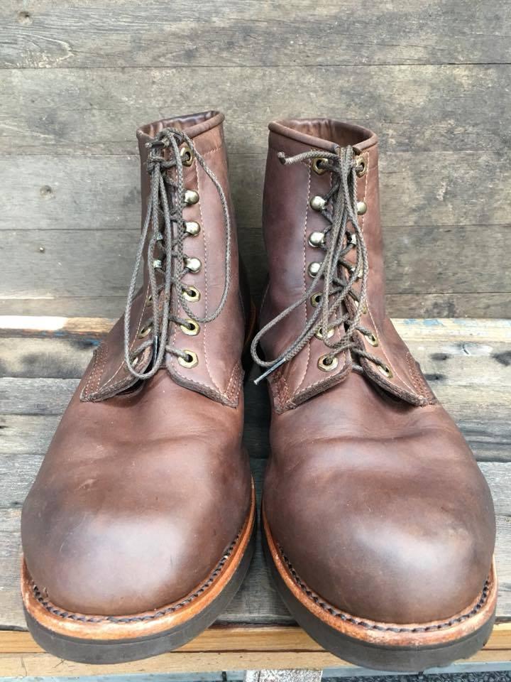 2.SALEChippewaมือสอง boot size 14EE