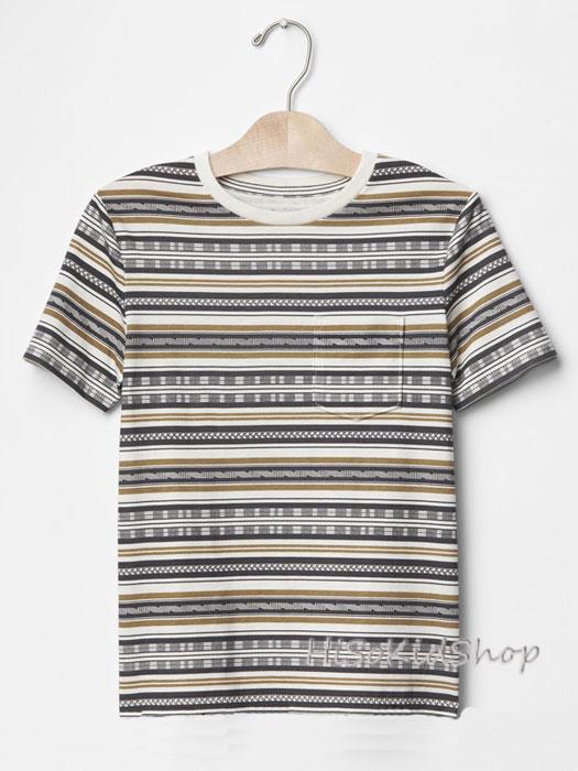 1241 Gap Kids T-Shirt -Grey ขนาด 8,10 ปี