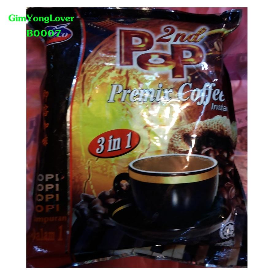 POP กาแฟสำเร็จรูป 3in1 (PoP Premix Coffee Instant)