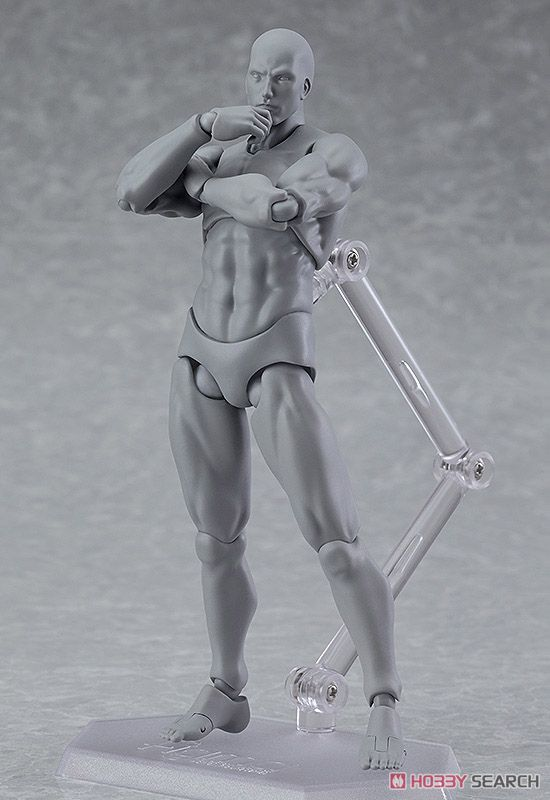 figma Archetype Next: He - Gray Color Ver. (PVC Figure)