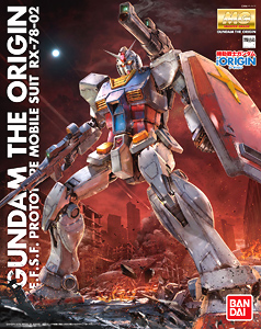 013143 MG 1/100 RX-78 Gundam [Gundam THE ORIGIN] 4500yen