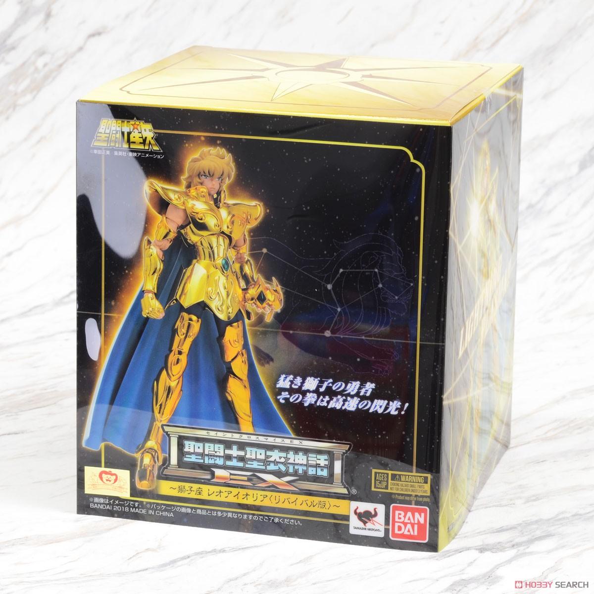 (มี1 รอเมลฉบับที่2 ยืนยันก่อนโอนเงิน ) Saint Cloth Myth EX Leo Aiolia -Revival Ver.- (PVC Figure) 8000yen ล็อต jp