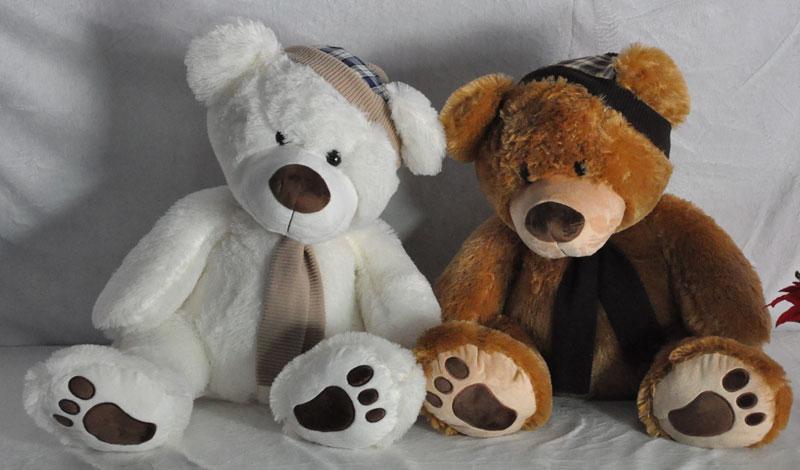 หมีผู้ดีอังกฤษ ขนาดกลาง (M) ความสูงท่านั่ง 45 cm.