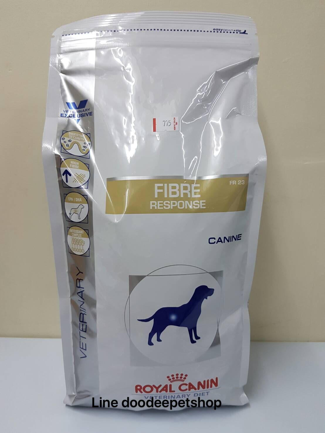 Fibre ุ2 kg. Exp.04/19 สุนัขที่ภาวะท้องผูก ช้วยให้ขับถ่ายได้สะดวก