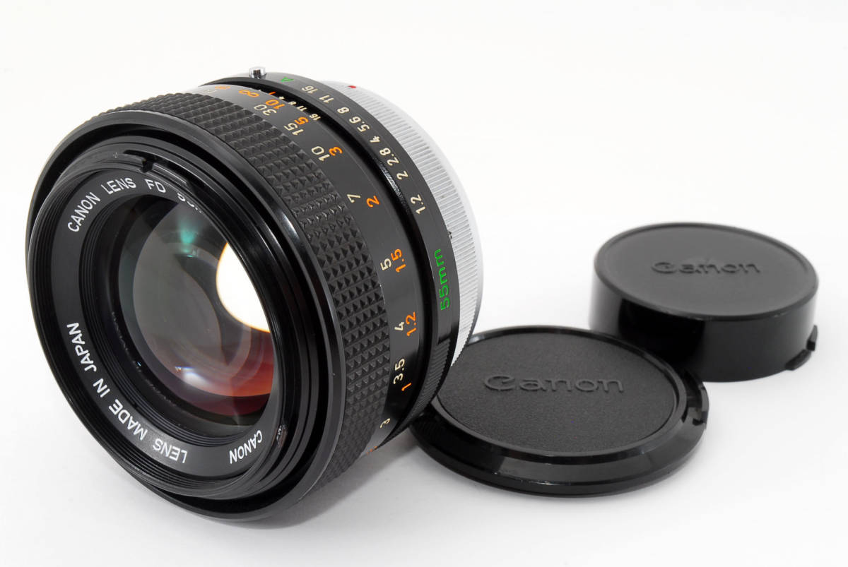 Canon FD 55mm F1 2 S S C