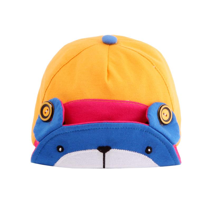 หมวกน้องหมีสีเหลือง แพ็ค 3 ชิ้น