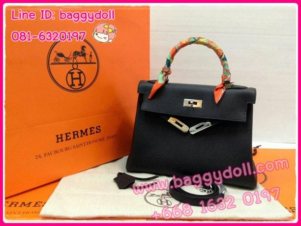 Hermes Kelly28 Togo Leather Silver Hardware **เกรดท๊อปมิลเลอร์** (Hi-End)