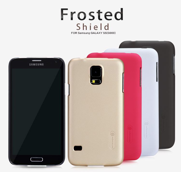 Case Samsung Galaxy S5 >> Nillkin Super Frosted Shield