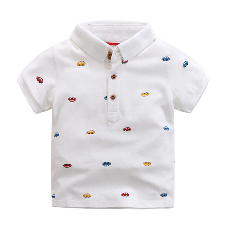 เสื้อ สีขาว แพ็ค 5 ชุด ไซส์ 100-110-120-130-140