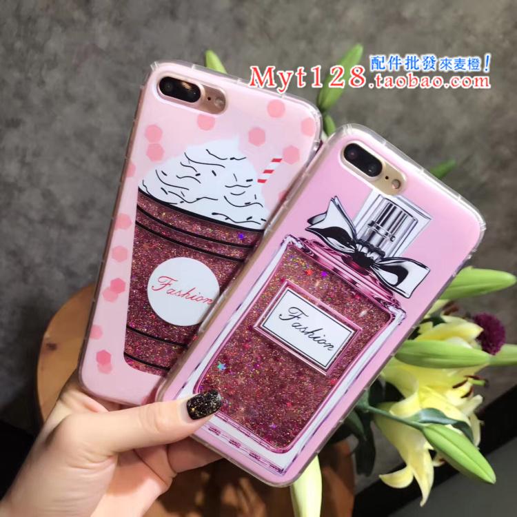 Case iPhone 7 (4.7 นิ้ว) พลาสติกกากเพชรลายน่ารักมากๆ ราคาถูก