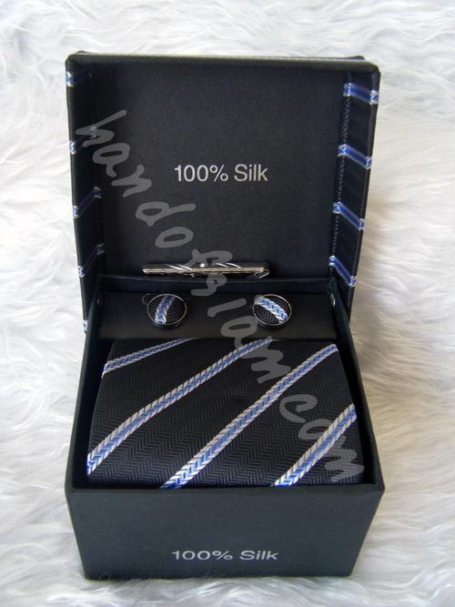 เนคไทผ้าไหม Silk NT033