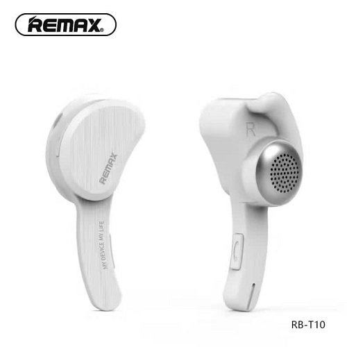 หูฟัง Remax Bluetooth Headset รุ่น RB-T10 สีขาว