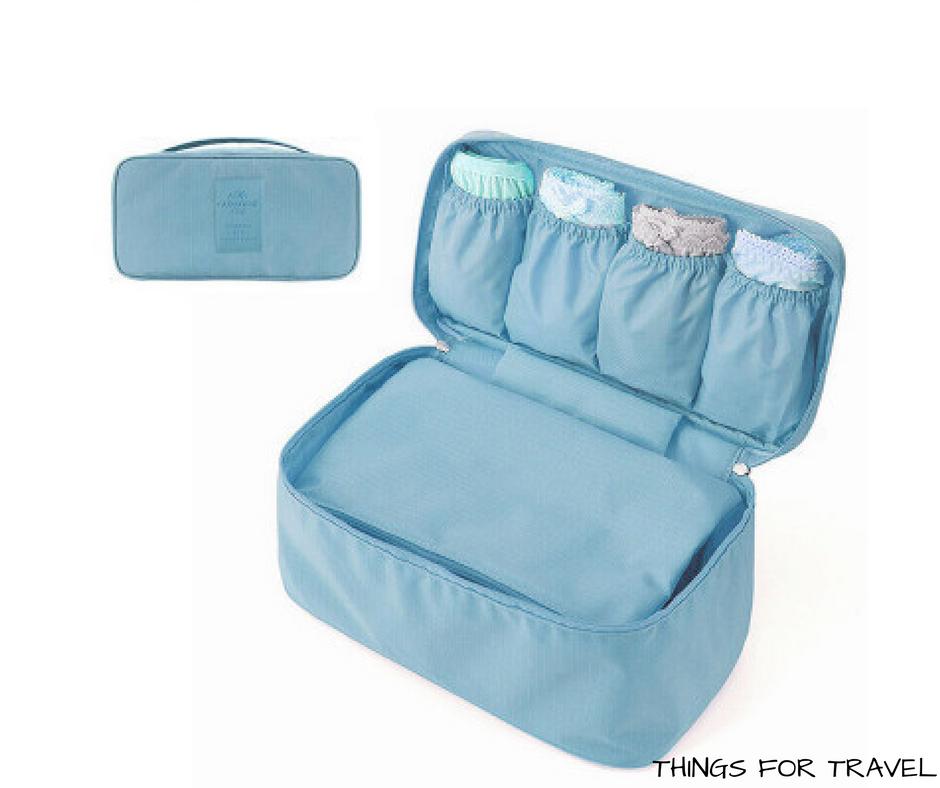 Things for travel Bikini bag (Blue)