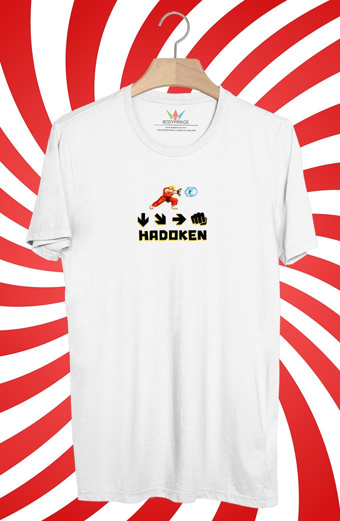 BP514 เสื้อยืด Ken Hadoken