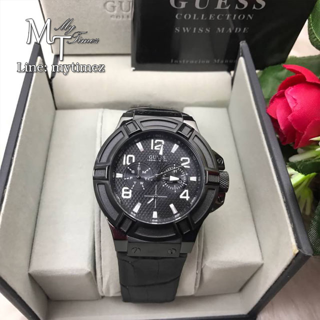 GUESS MEN'S RIGOR WATCH - W0040G1