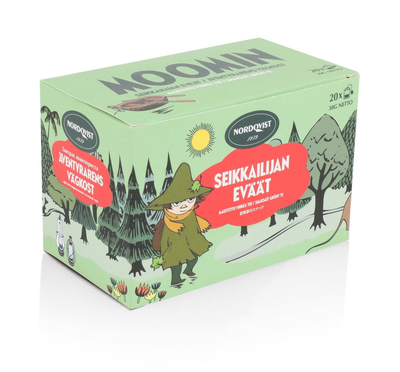 ชา Moomin - Nordqvist กลิ่น Adventurer's Snacks bagged tea 20x1,50 g