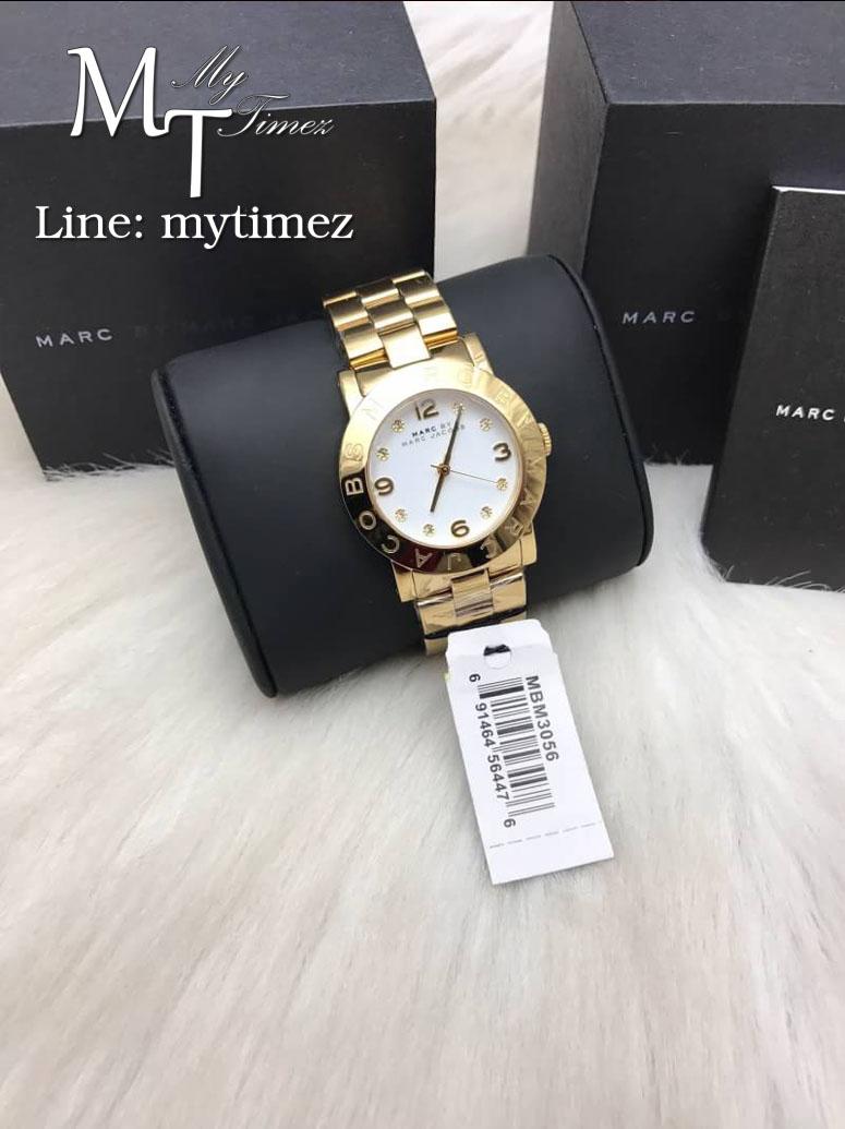 นาฬิกาข้อมือ MARC BY MARC JACOBS Amy White Dial Ladies Watch MBM3056