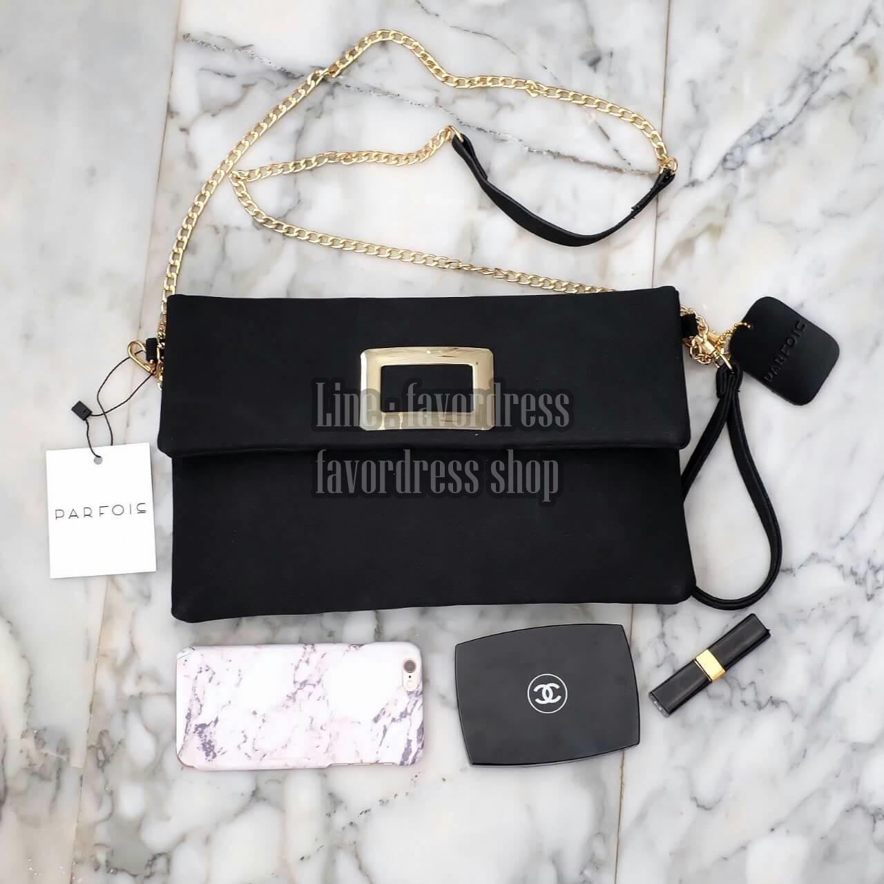 PARFOIS Clutch bag with strap รุ่นหายาก