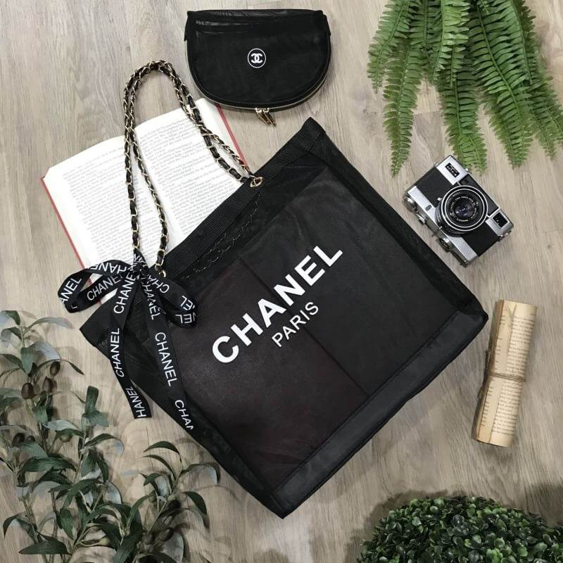 735c01b9f49046 Chanel GWP Shopping Bag With Pouch VIP Gift With Purchase - SMT ...