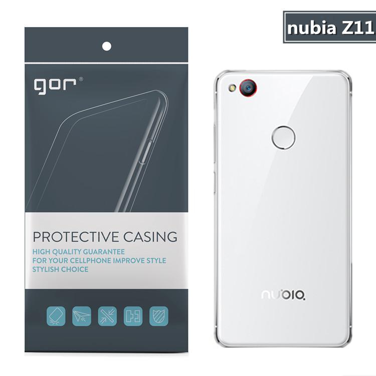 Nubia Z11 miniS เคสTPUนิ่ม ชนิดใส ยี่ห้อ GOR