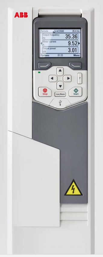 Inverter type PLd : 5.5 kW, ILd : 12 A ACS580-01-12A6-4+J400 (EU)