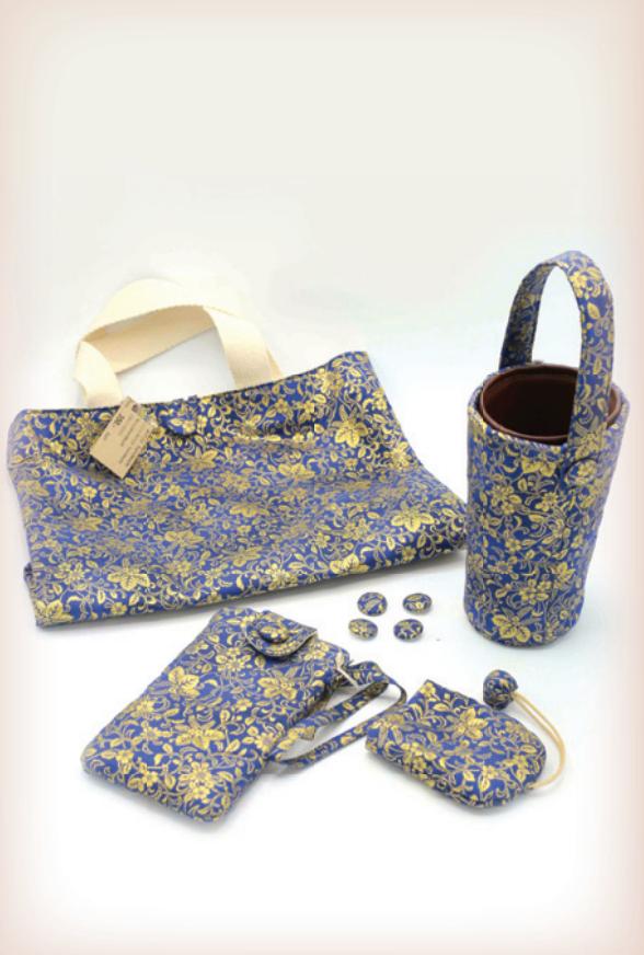 D00072 กระเป๋าผ้า Ninja Handmade