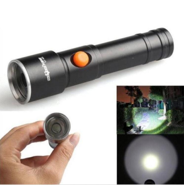 กระบอกไฟฉาย LED 3500 lm (Sky Wolf Eye)