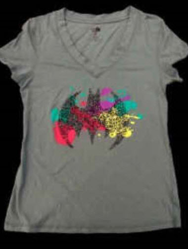 เสื้อยืด Bat Girl ขนาด L (Warner Bro.)