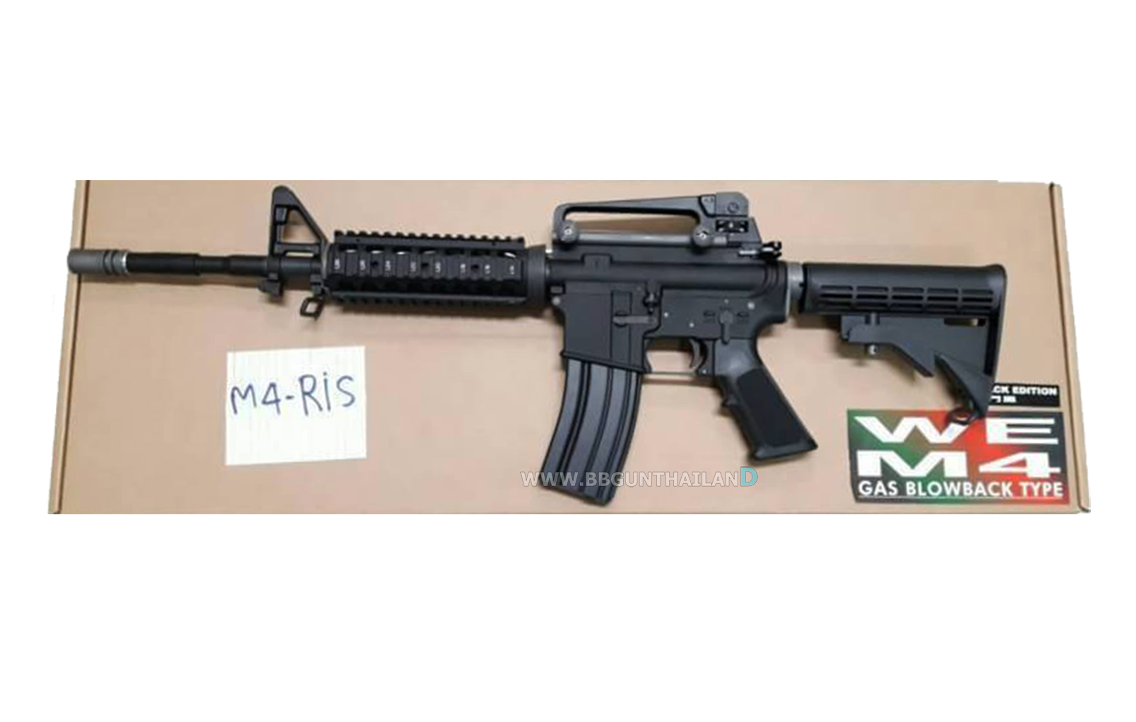 WE M4 RIS GBB