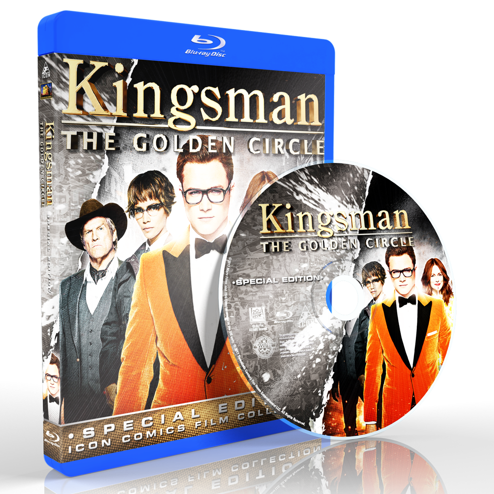 W1703 - Kingsman (The Golden Circle) (2017) [แผ่นสกรีน]