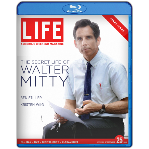 U2013088 - The Secret Life of Walter Mitty (2013) [แผ่นสกรีน]