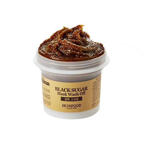 Skinfood Black Sugar Mask Wash Off สกินฟูด แบล็ค ซูการ์ มาร์ค