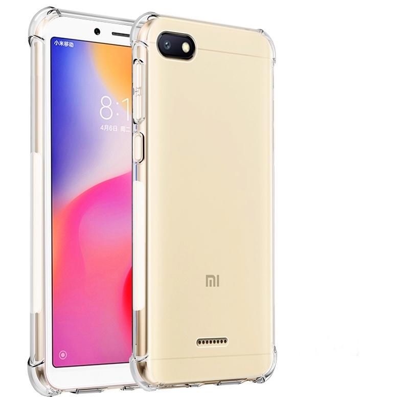 TPU Case โปร่งใส กันกระแทก (Xiaomi Redmi 6A)