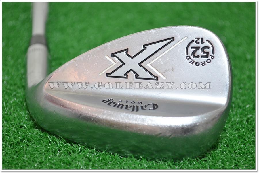 CALLAWAY X-FORGED CHROME 52* GAP GW FLEX WEDGE