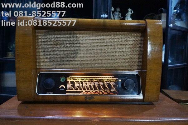 วิทยุหลอด greatz super158w ปี1951 รหัส191259tr