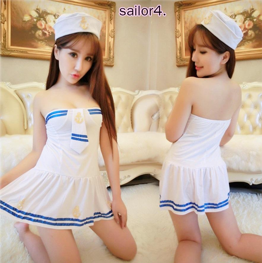รหัส sailor4 ชุดคอสเพลย์กาลาสีเรือสาวสุดน่ารัก