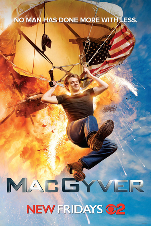 MacGyver Season 1 (บรรยายไทย 5 แผ่นจบ + แถมปกฟรี)