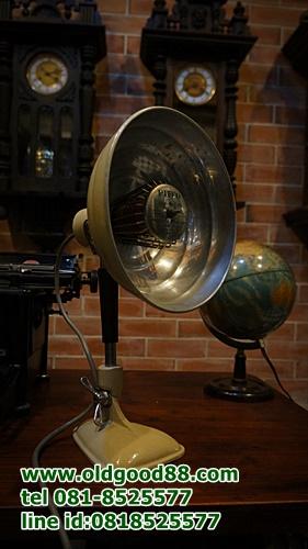 โคมไฟและฮีตเตอร์ lamp&heater สัญชาติอังกฤษ รหัส7461lh