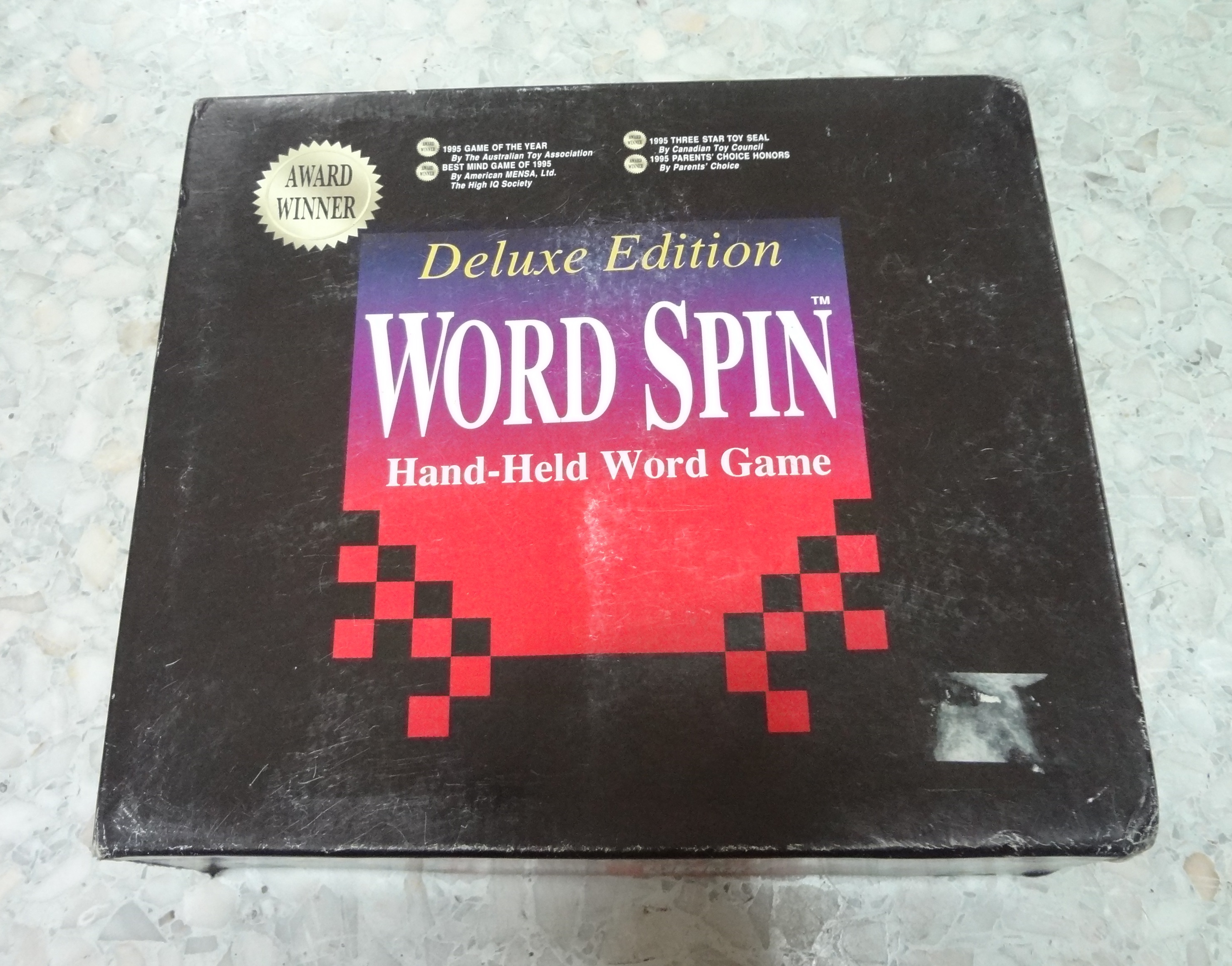 Word Spin Geospace Australia Game of the year 1995