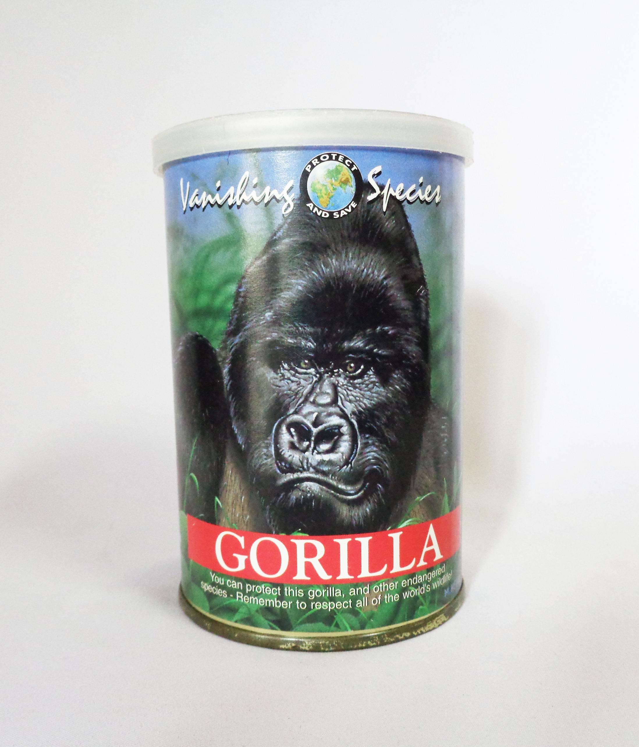 ตุ๊กตากอริลล่าในกระป๋อง - Gorilla Canned Critters