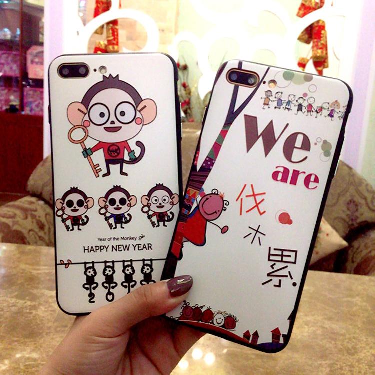 (557-018)เคสมือถือไอโฟน Case iPhone 6/6S เคสนิ่ม MY COLORS ลายน่ารัก