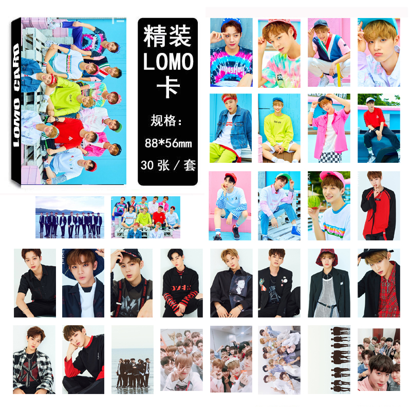 Lomo card set WANNA ONE 02 (30pc)