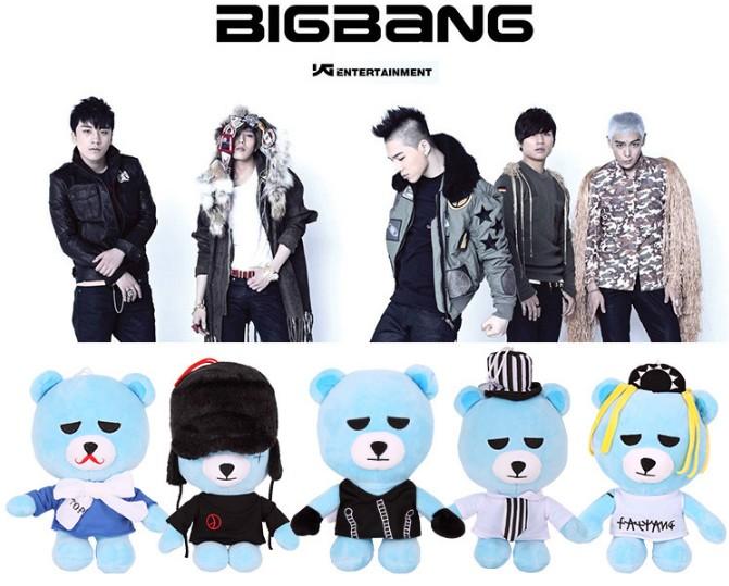 ตุ๊กตา BIGBANG YG BEAR [SIZE 20.4 CM]