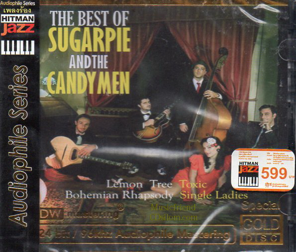 CD,Sugarpie And The Candy Men - The Best Of(Gold CD)