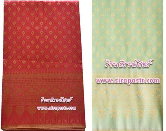 ผ้าลายไทย-1E *เลือกสี / รายละเอียดตามหน้าสินค้า